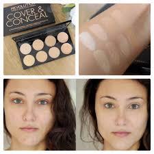 makeup revolution ultra cover and concealer palette ส light