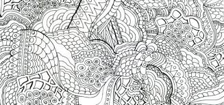 Coloring Pages Intricate Intricate Coloring Page Design Pages