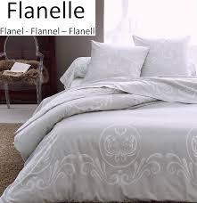 duvet cover pillowcase 65x65 cm roma grey 100 cotton flannel