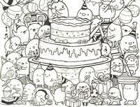 Cozy Kleurplaten Voor Volwassenen Verjaardag Ofertasvuelo