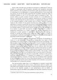 defamation law in  14 15
