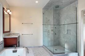 ceramic and porcelain shower wall