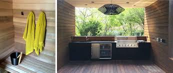 Midcentury Modern Outdoor Kitchen And Saunajpg  Indian - Modern outdoor kitchens