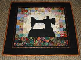 Completed Quilts , Top, Back, and Batting. Machine Quilted. & Water Color Quilt - Feather Weight Sewing Machine Adamdwight.com