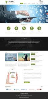 Wordpress Design India Upmarket Modern Digital Wordpress Design For Spiral