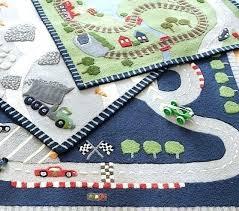 alternate view a train track rug railroad race car area