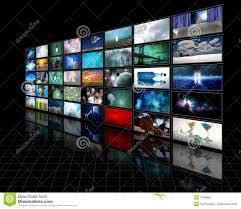 Video Displayer Video Display Stock Image Image Of Flatscreen Hdtv 11898687