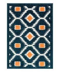 orange tile terrace indoor outdoor rug