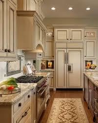 cream kitchen cabinets with black countertops. Simple And Elegant Cream Colored Kitchen Cabinets Design Ideas (105) With Black Countertops S