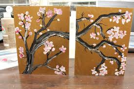 japanese cherry blossom wall art