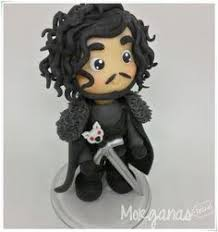 jon snow clay - Google Search | Cute polymer clay, Clay creations ...