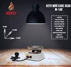 Kefo Ocak Yeni Model Mini Kare Elektrikli Ocak Ev Tipi Köz Yakma Fiyatları  ve Özellikleri