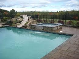 backyard pool with slides. Wonderful Pool Pool Designs With Slides Backyard Cool Photo Of  Model At Ideas   To Backyard Pool With Slides