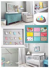 A Perfectly Pretty Turquoise, Yellow and Pink Bird-themed Nursery ...