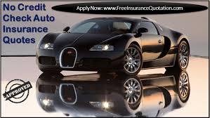 no credit check car insurance companies provides quotes
