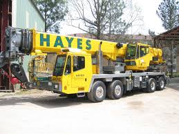Grove 165 Ton Crane Load Chart Crane Services Hayes Manufacturing