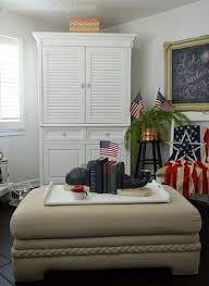 Patriotic Bedroom The Best Red White Blue Decor