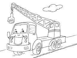Coloriage Camion Les Beaux Dessins De Transport Imprimer Et
