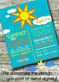 15 Summer Camp Flyer Templates Word Psd Ai Eps Vector