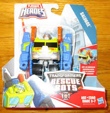 transformers rescue bots salvage garbage truck vehicle