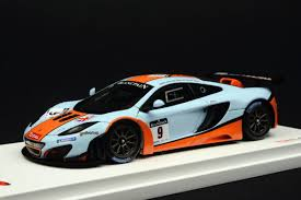 mclaren mp4 12c gt3 special edition. truescale 143 mclaren mp412c gt3 9 gulf racing total spa 24 mclaren mp4 12c gt3 special edition