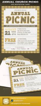 annual church picnic invite card template the office company this annual church picnic invite card template is great for any personalized invitation use it