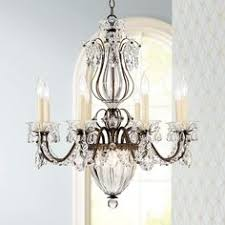 bronze and crystal chandelier. Beverly 26\ Bronze And Crystal Chandelier