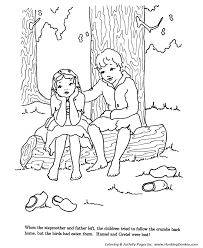 hansel and gretel online coloring page. free coloring page friday ...