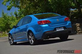 2014 Holden VF Commodore SV6 review (video)   PerformanceDrive