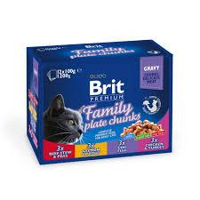 Купить со скидкой <b>Паучи Brit Premium Family</b> Plate набор для кошек