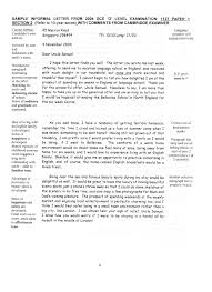 informal letter essay example docoments ojazlink example of an informal essay