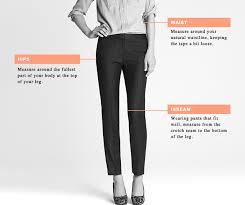 J Crew Size Chart Clothing Size Charts Measurement Guide For Women Men Children
