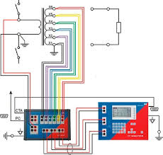 a revolution in current transformer testing asian power figure 2 connection example for a 6 tap current transformer