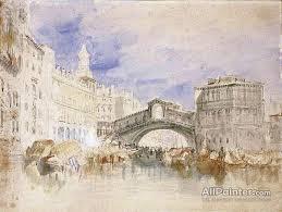joseph mallord william turner paintings for venice the rialto