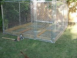 diy large outdoor dog kennel ideas