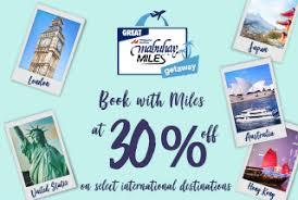 Great Mabuhay Miles Getaway 2018