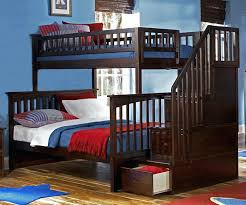 white bunk bed with stairs. Wonderful Bed Bunk Beds W Stairs Alternative Views White With Twin Over  Full To Bed