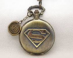 17 best images about bad ass watches tag heuer superman pocket watch the man of steel watch fob watch necklace wax