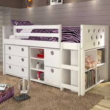 twin loft beds with storage. Unique Twin Circles Twin Loft Bed With Storage  White For Beds With I
