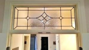 stained glass transom windows custom leaded bevel abstract window designs for tr