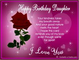 Free Birthday Cards For Daughter From Mom Birthday Wishes For