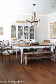 ideas for easter decorating gorgeous neutral dining room with rustic touches and a wine barrel