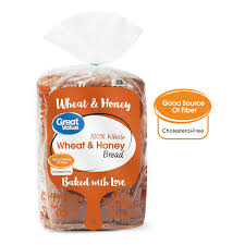 Wheat Light Battery Replacement Great Value 100 Whole Wheat Honey Bread 24 Oz Walmart Com