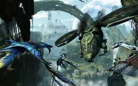 movie tech our review of avatar general pc tech authority a dragonfly helicopter goes in low against an alien enemy