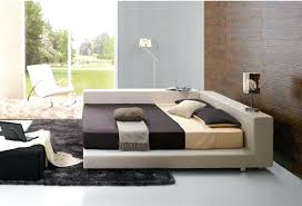 Full Image for Modern Platform Bed Frame With Storage Modern Bed Frames  Full Size Deion Contemporary