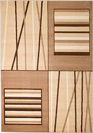 summit rio 308 coffee beige area rug modern abstract rug many sizes available 2x3 2x7 4x6 5x8 8x10 door mat 22 inch x 35 inch