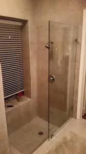 message frameless shower splash guard