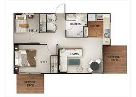 12 50 sqm house plan ideas house