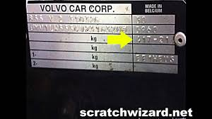 How To Find Your Volvos Paint Code