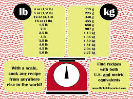 Infographic Weight Equivalents Chart A Handy Guide For